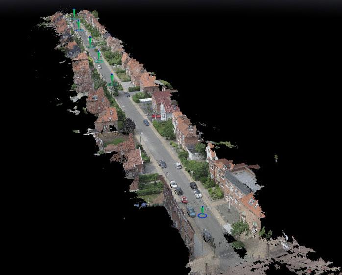 Hele gaden i 3D